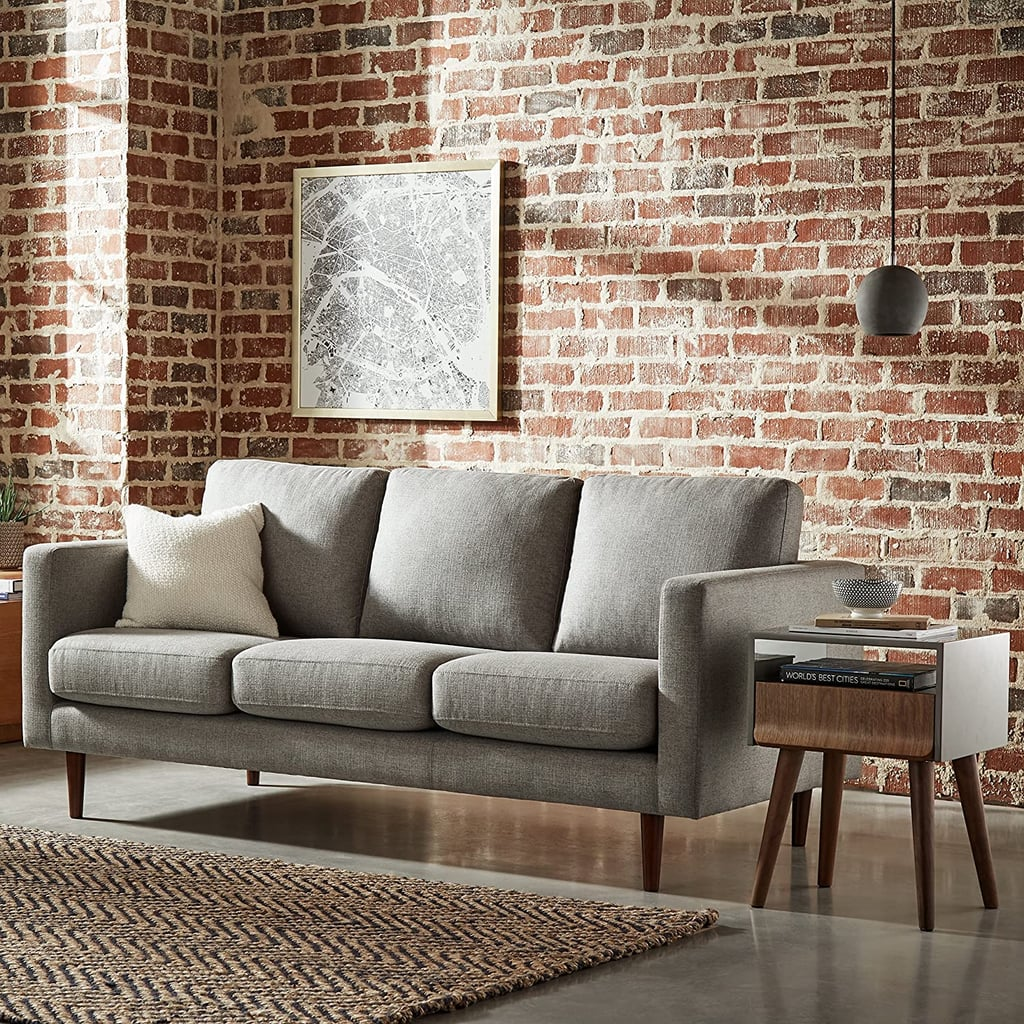 A Comfortable Sofa: Rivet Revolve Modern Upholstered Sofa Couch