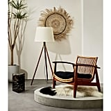 Noelie Rattan Lounge Chair With Cushion