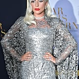 Lady Gaga's Silver Dress A Star Is Born Premiere Sept 2018