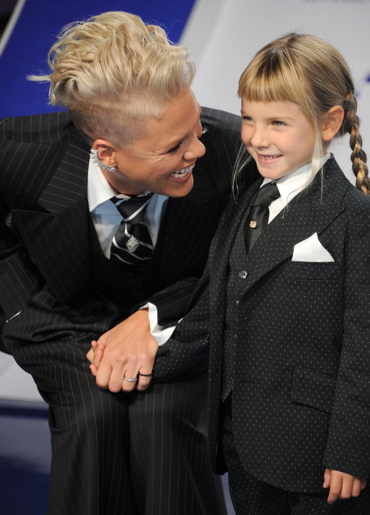 Ever since Pink and husband Carey Hart welcomed daughter Willow in June 2011, the outspoken singer has flooded our Instagram feeds with a bevy of precious moments between her and her mini me. In addition to their cute car selfies, the mother-daughter duo occasionally hits up a red carpet premiere and somehow manages to make our hearts melt each time. While there are many celebrity families out there, one thing we can all probably agree on is that Pink and Willow are too cute for words.       Related:                                                                                                           The Most Gorgeous Pictures of Pink Flying Through the Air