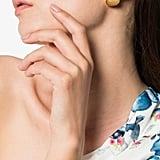 TOHUM Small Beach Shell Earrings ($197)