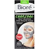 Bioré Charcoal Self Heating One Minute Mask