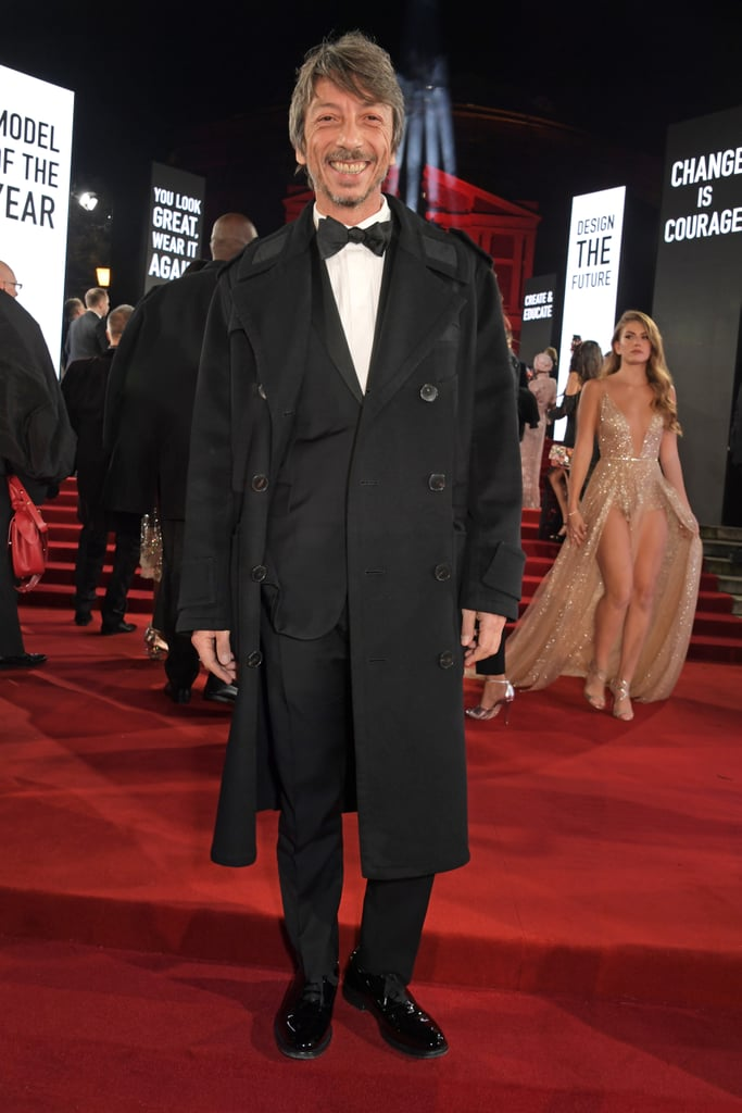 Pierpaolo Piccioli at the British Fashion Awards 2019 in London
