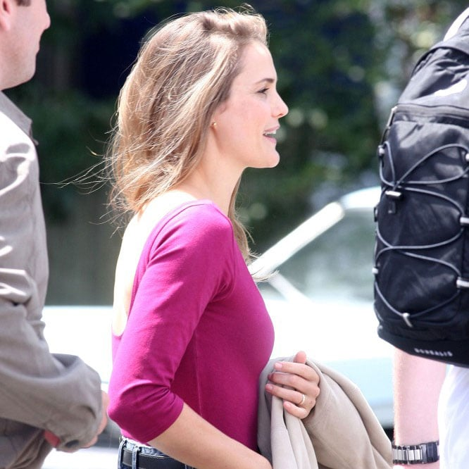 Keri Russell Filming In NY Pictures