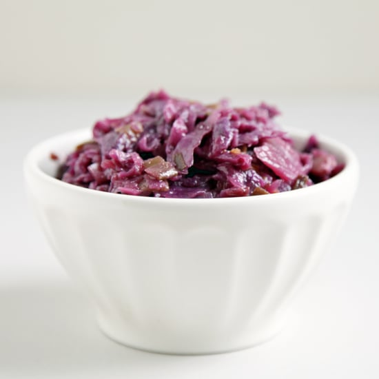 Braised Red Cabbage With Maple and Ginger