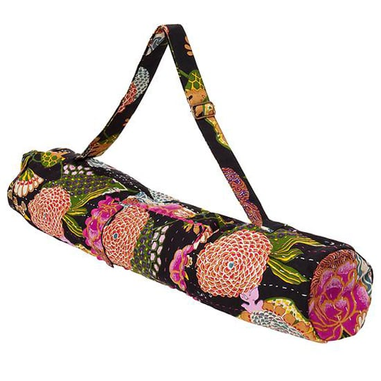 This Bhakti Yoga Bag ($40) is a favorite in the bunch. This gorgeous floral print is perfect for Spring and very fashion-forward to boot.