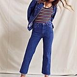 Urban Renewal Vintage Wrangler Cropped Jean