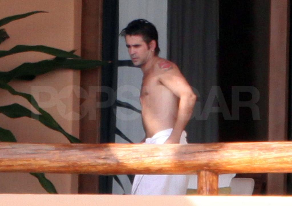 Photos of Shirtless Colin Farrell