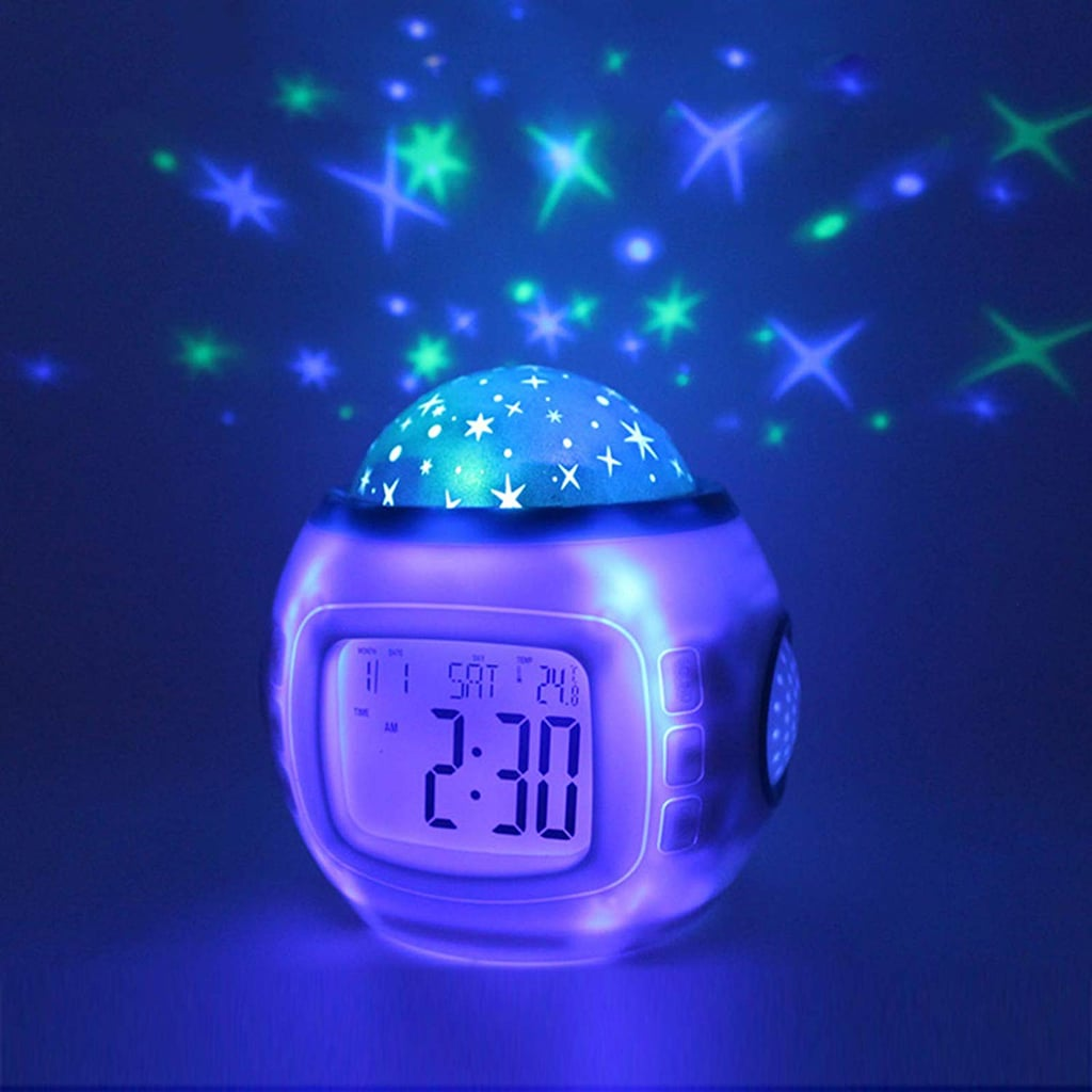 For 7-Year-Olds: Projection Alarm Clock