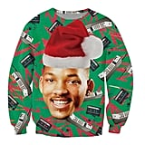 Fresh Prince of Bel-Air Cell Phone Ugly Christmas Sweater