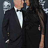 Bruce Willis and Demi Moore at Comedy Central Roast 2018