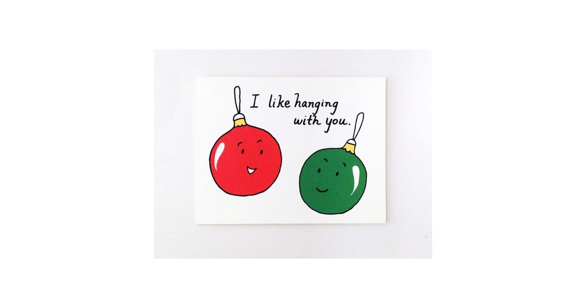 Cute Best Friend Christmas Card Funny Holiday Cards