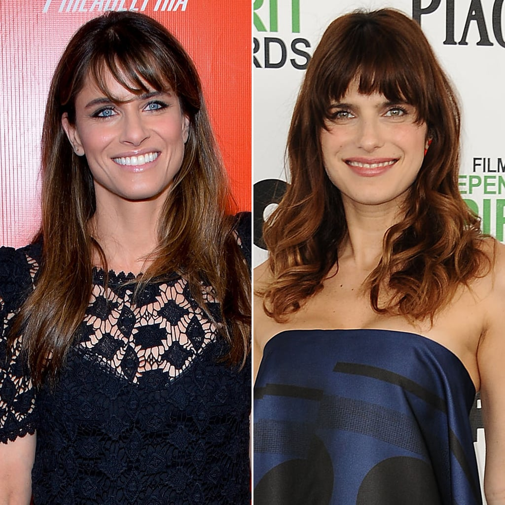 Amanda Peet and Lake Bell