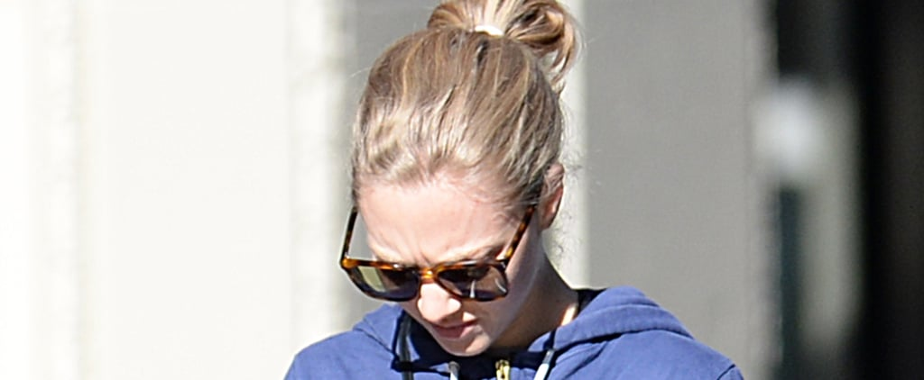 Amanda Seyfried Steps Out Wearing a Gold Band — Is This Her Engagement Ring?