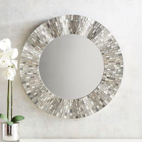 Stargazer Mosaic Mirror