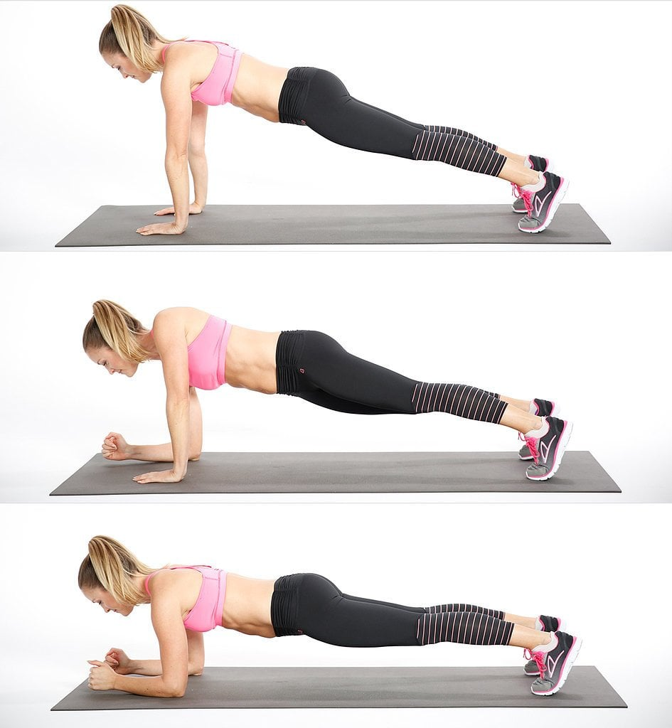Circuit 2, Move 1: Up-Down Plank