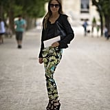 Revamp your casual gear with printed trousers, then add in all of your favourite black tees and layers to make the pattern pop even more.