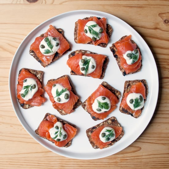 Gravlax and Creme Fraiche Appetizer