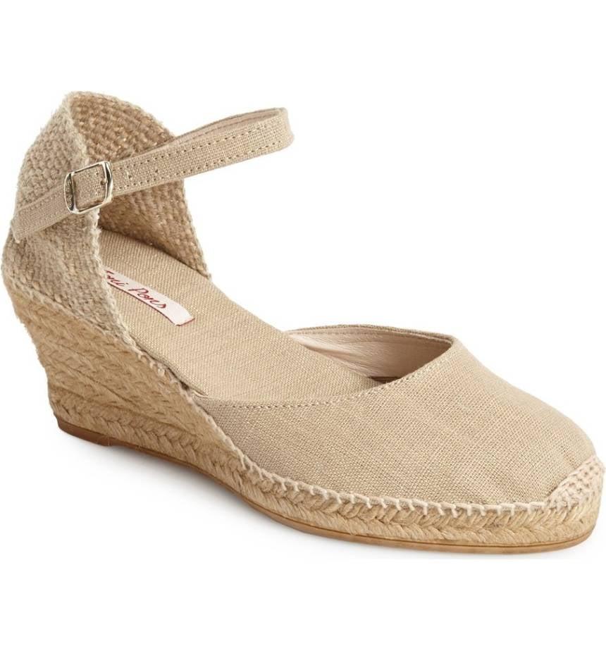 Toni Pons Women's 'Caldes' Linen Wedge Sandal hEZ4H