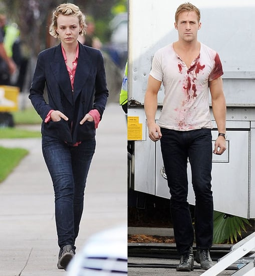 Pictures of Carey Mulligan and Ryan Gosling Filming Drive 2010-10-20 05:00:00