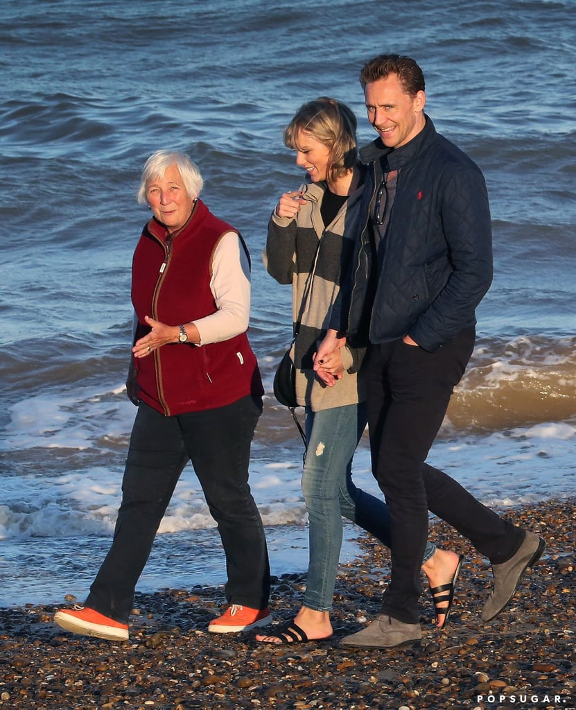 Taylor Swift And Tom Hiddleston With His Mom In The Uk Popsugar