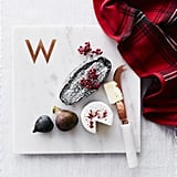 William Sonoma Marble and Copper Monogram Board ($40)