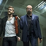 Primo Allon as Osborne and Peter Stormare as Werner Zytle, aka the cheesiest bad guys ever.