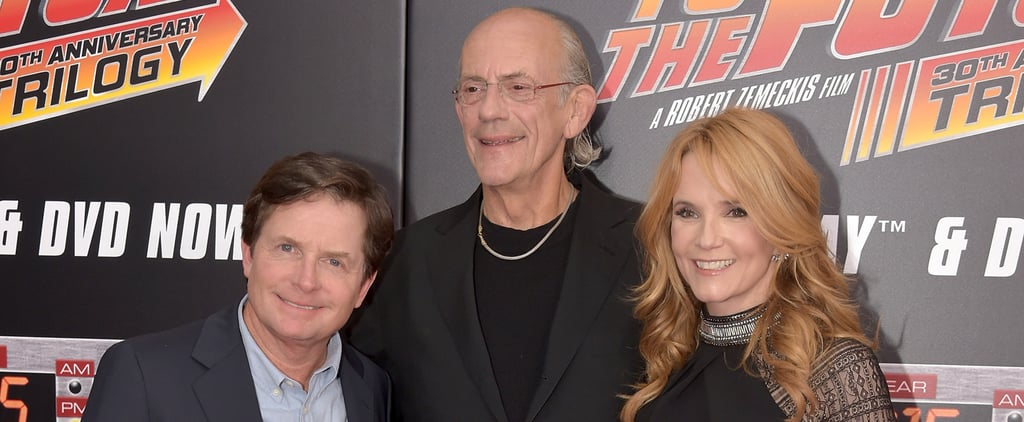 Back to the Future Cast Reunion Oct. 2015