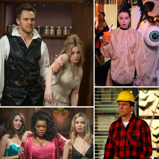 Halloween Pictures From Community, The Office, and Parks and Recreation