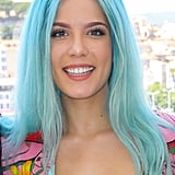 Halsey With Aqua Hair
