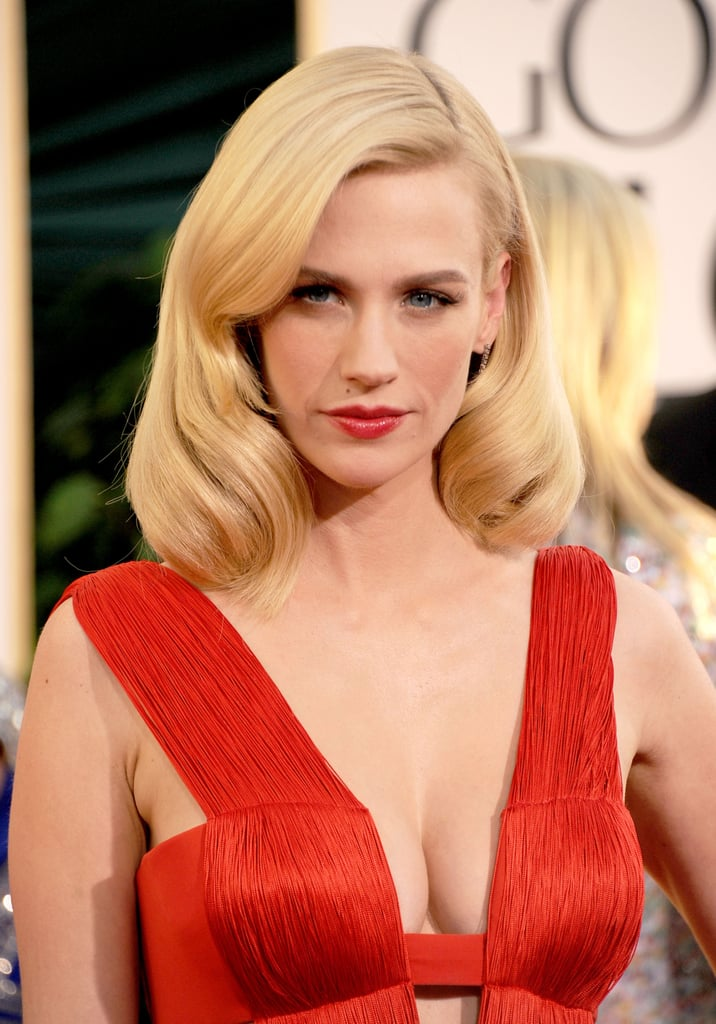 Best Beauty Gurus On Youtube 2016: Pictures Of January Jones Best Hair And Makeup Looks