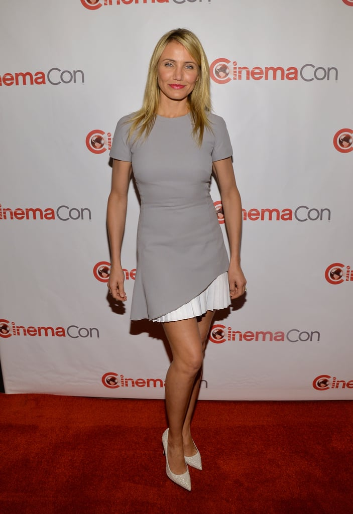Cameron Diaz in Victoria Beckham at CinemaCon