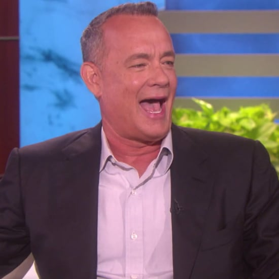 Tom Hanks on The Ellen DeGeneres Show September 2016