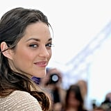 Marion Cotillard posed at the Rust and Bone photocall at the Cannes Film Festival.