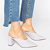 Asos Pinkie Pointed Heeled Mules (£30)
