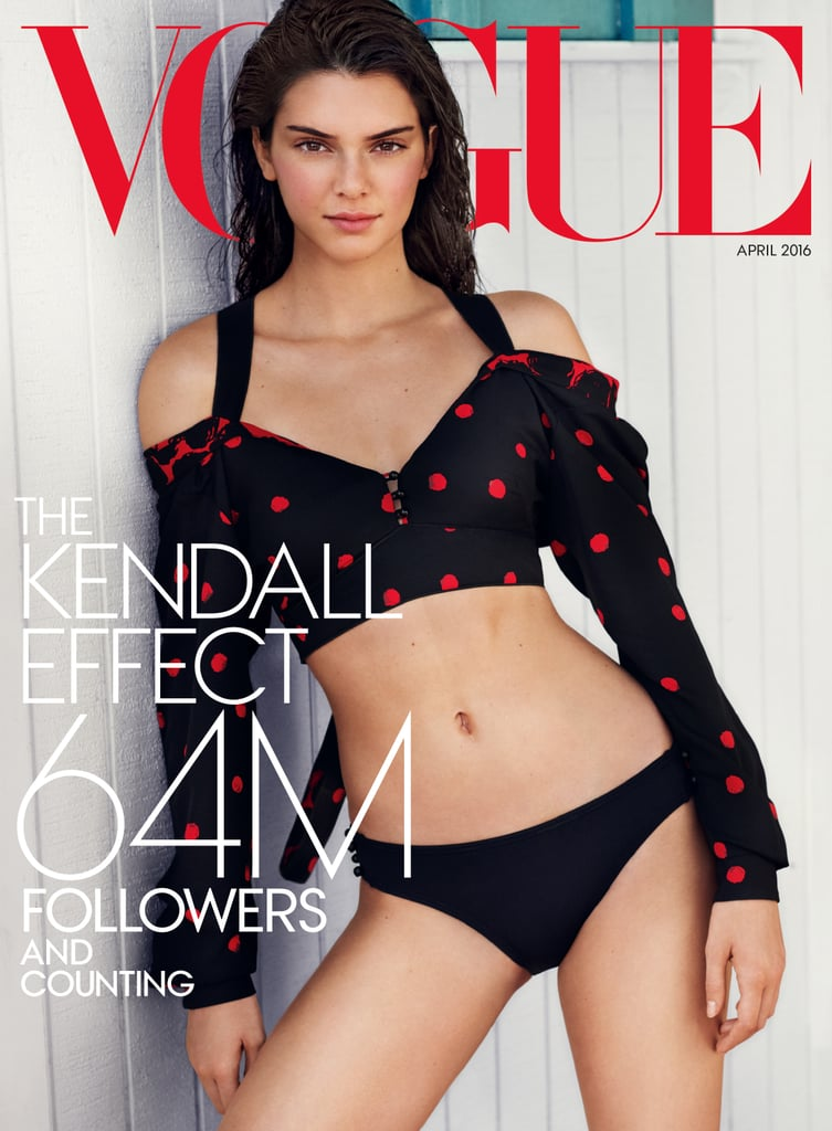 Vogue Cover April 2016 Kendall Jenner
