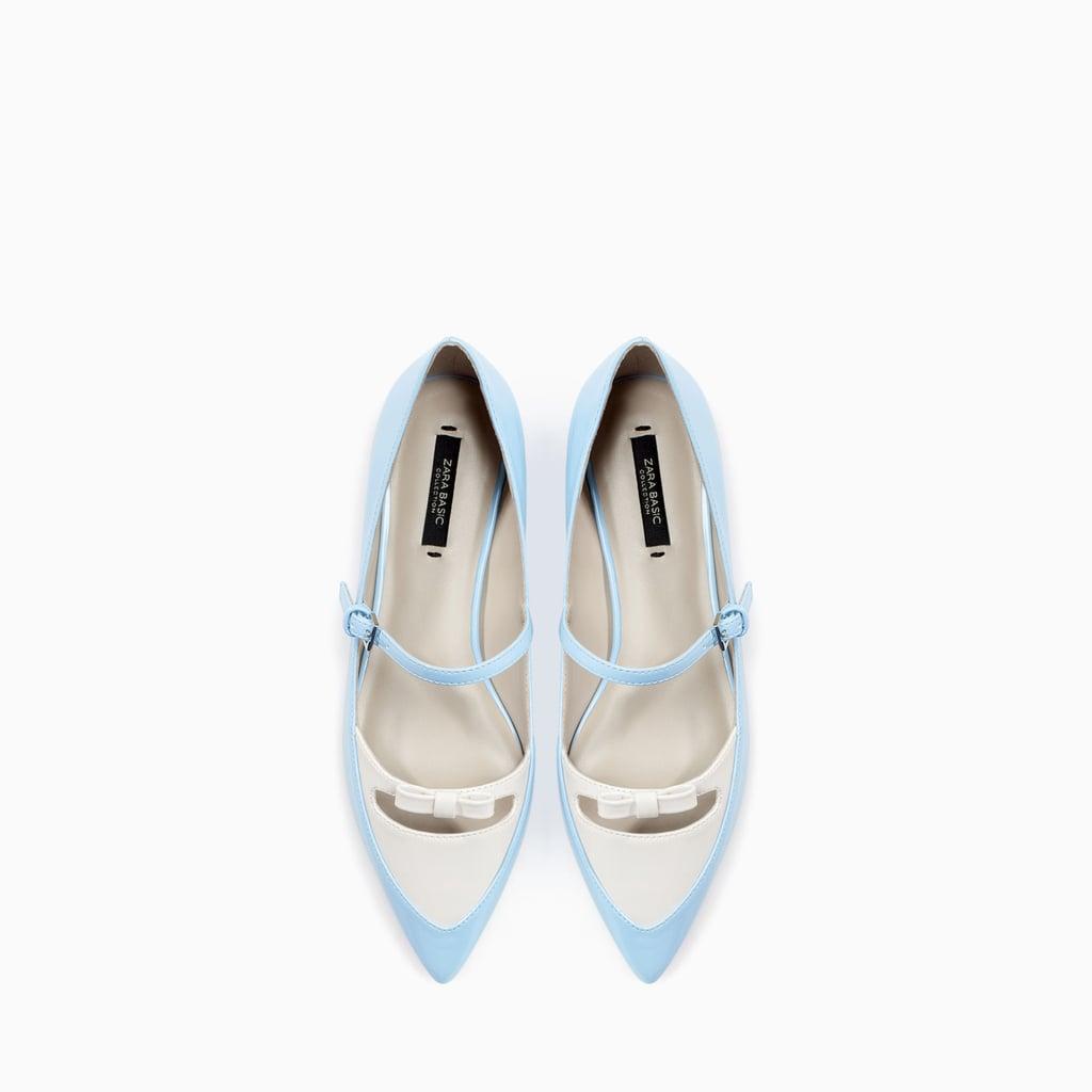 Zara Pointed Ballet Flats