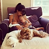 "Hilaria Baldwin commented, ""I'm one lucky mama,"" and we'd have to agree!"