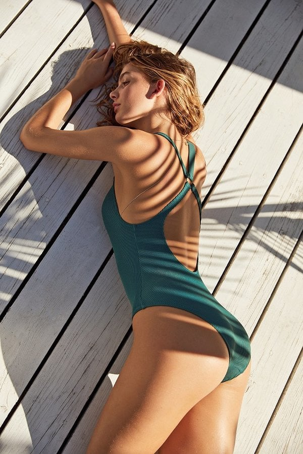 Out From Under Cutout Ring Swimsuit