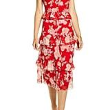 Rachel Parcell Floral Ruffle Shirtdress