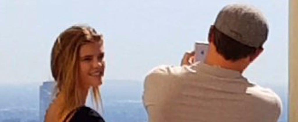 Leonardo DiCaprio Plays Instagram Boyfriend and Snaps Photos of Nina Agdal in LA