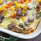 Sausage Veggie Lover Breakfast Casserole