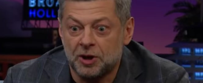Andy Serkis Does Gollum Impression for James Corden