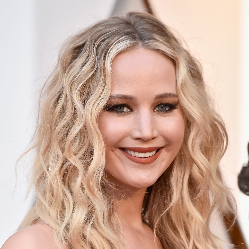 Jennifer Lawrence Oscars Makeup and Hair 2018
