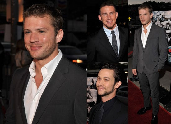 No Loss for Hot Guys at the Stop-Loss Premiere
