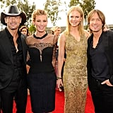 Tim McGraw, Faith Hill, Nicole Kidman, and Keith Urban