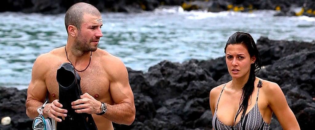 Sam Hunt Sports a Bald Head and Bulging Biceps During His Hawaiian Vacation