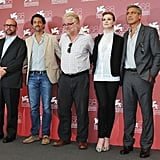 Paul Giamatti, George Clooney, Evan Rachel Wood, Philip Seymour Hoffman, Grant Heslov for The Ides of March.