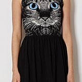 A cat-eye sleeveless dress ($25), because why not?