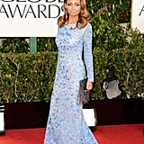 Nicole Richie was among the first to arrive at the 2013 Golden Globe Awards.